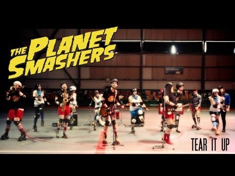 The Planet Smashers - Tear It Up (Official video)