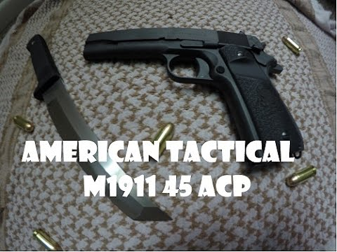 1911 American Tactical 45 Acp Youtube