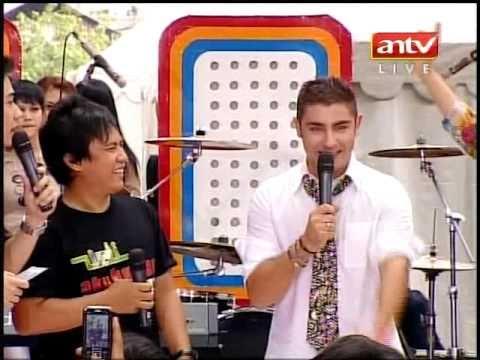 """WALI Feat. FABRIZIO FANIELLO """"CARI JODOH"""" Live Di MANTAP (Courtesy ANTV)"""