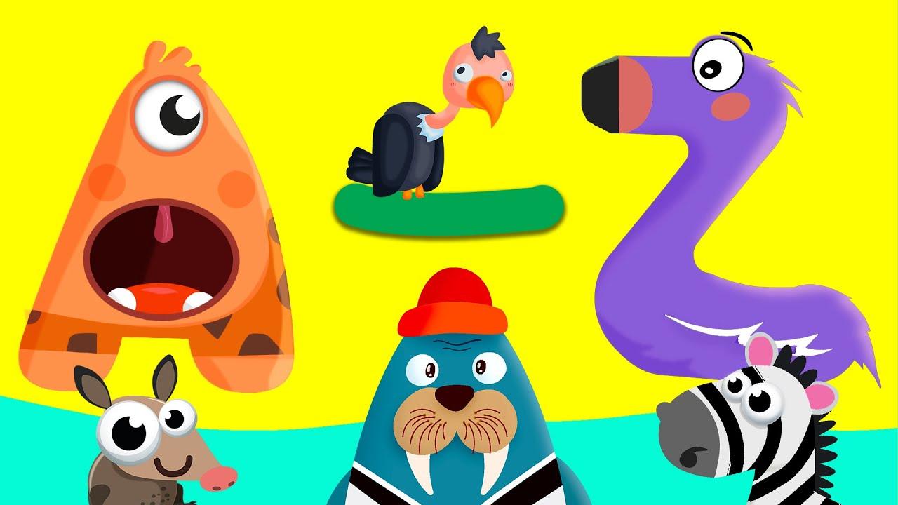 A'dan Z'ye Sevimli Hayvanlar Çizgi Filmi | Tüm Bölümler