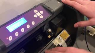 Gambar cover how to USE uscutter mh 871–mk2 (VINYL CUTTER review)