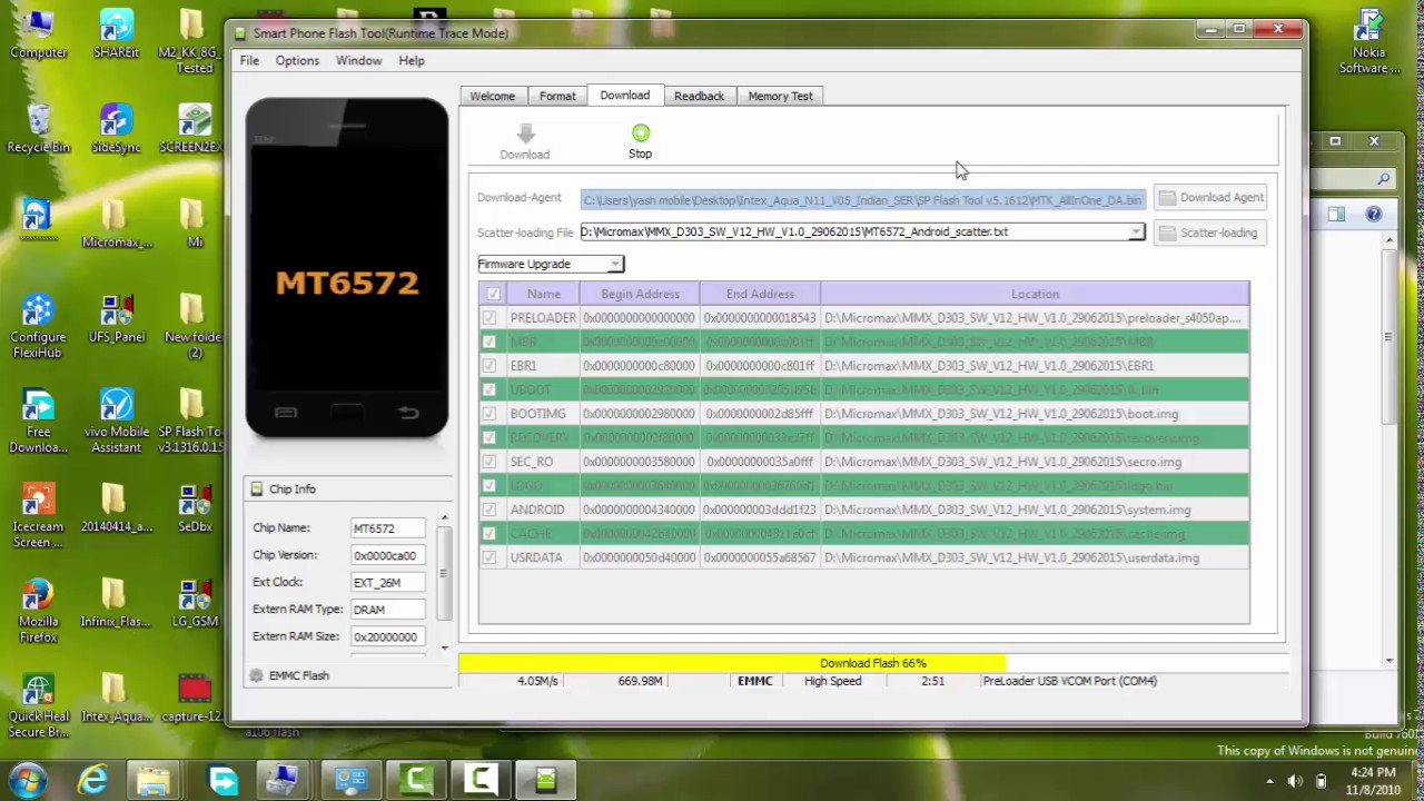 How To flash Micromax Bolt D303 by Sp flash Tool by Mobile Tech