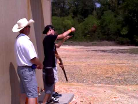 Phillip Gough in Conroe Texas at Cowboy Church Skeet Shoot