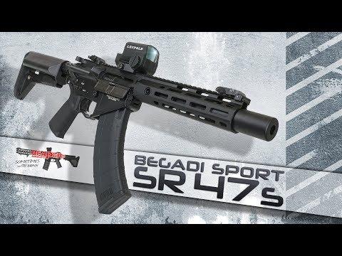 [Review] Begadi Sport SR47 (S-AEG Und 0,5J AEG Auch Für Einsteiger/Anfänger) 6mm Airsoft/Softair
