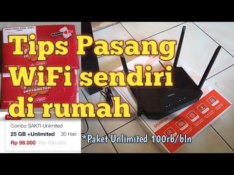 Tips Membuat Internet WiFi Sendiri Di Rumah