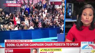 MSNBC - Clinton loses Election Reactions