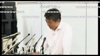 橋下徹が野々村竜太郎先輩について語る!記者大爆笑 thumbnail