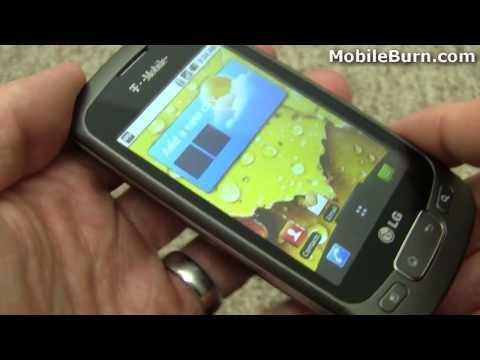 LG Optimus T / Optimus One (T-Mobile) tour - part 2 of 2