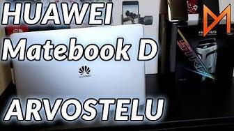 Läppäri kouluun ja pelaamiseen?   Huawei Matebook D arvostelu