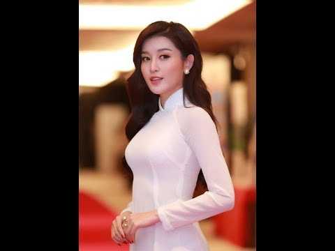 The traditional Vietnam clothes style Ao Dai