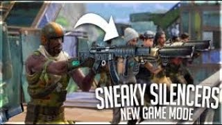 Fortnite Battle Royal-New game mode sneaky silencers