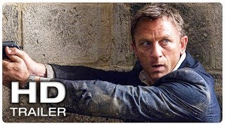 JAMES BOND 25 NO TIME TO DIE Teaser Trailer #1 Official (NEW 2020) Daniel Craig 007 Action Movie HD