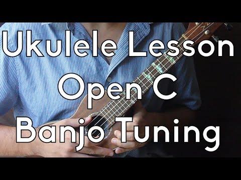 """Learn Ukulele - Open C or """"Banjo Tuning"""" Crash Course"""
