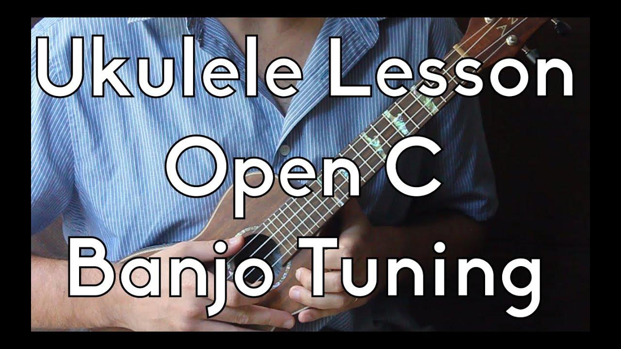 learn ukulele open c or banjo tuning crash course youtube. Black Bedroom Furniture Sets. Home Design Ideas
