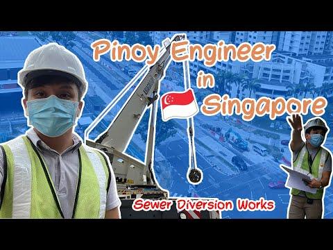 OFW Civil Engineer in Singapore (My Work)   WinJohn Vlogs