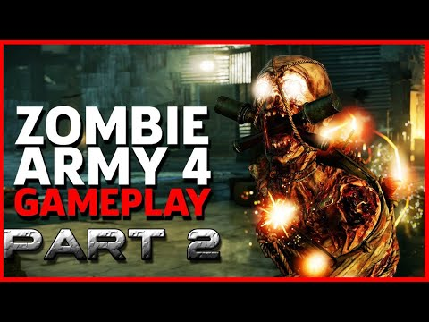 Zombie Army 4 Gameplay Walk Through Part 2 Ultra Wide PC