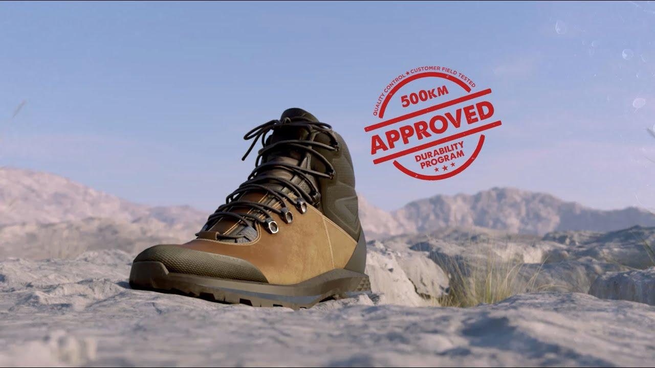 Forclaz Test Durabilite Chaussure Forclaz Trek 100 Youtube
