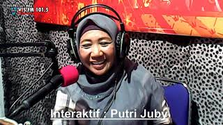 Puteri Juby Terlena Visfm Banyuwangi