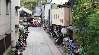 のとよさこい2日目 2018年6月10日 元町通り.