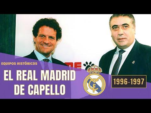 REAL MADRID🏆 Campeón De La Liga De Las Estrellas 🌟 (1996-1997) | Lorenzo Sanz Y Fabio Capello
