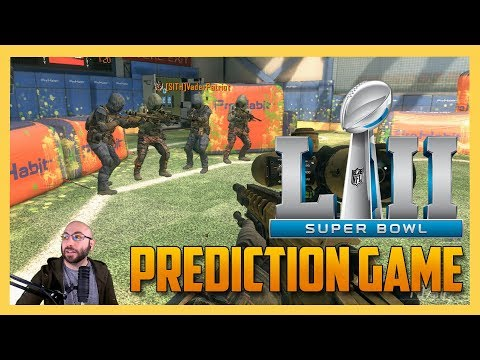 Super Bowl 52 Prediction Game using Sniper Roulette!