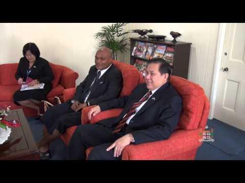 Deputy Prime Minister of the Kingdom of Thailand courtesy call to Fijian President.