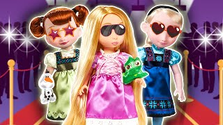 📺 Las  Junior Se Hacen Famosas 📸 - Princesas de Disney
