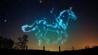 Photoshop CS6: How To Make Animal Constellation