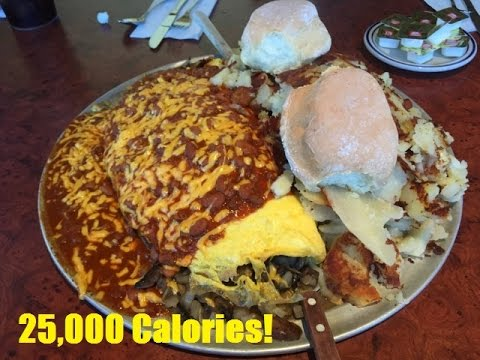 """The Day of Glory"" (25,000 Calorie Cheat Day)"