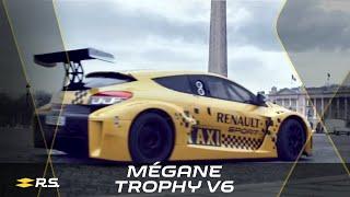 Mégane Trophy V6 et son pilote vous emmènent en balade improvisée afin de faire le plein en sensation. » Paris, capitale de la France, symbole de la culture ...