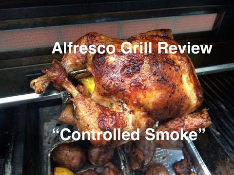 """Curtos.com: """"Controlled Smoke"""" with an Alfresco Grill"""
