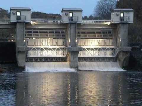 Pompton Lakes Dam floodgates opened for Hurricane Sandy