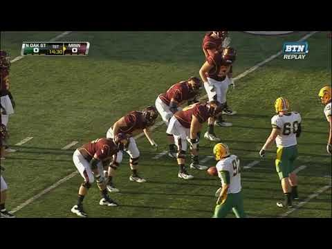 NDSU vs  Minnesota Football 2011