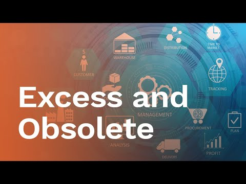 Overcoming Excess and Obsolete E O Inventory Challenges - YouTube