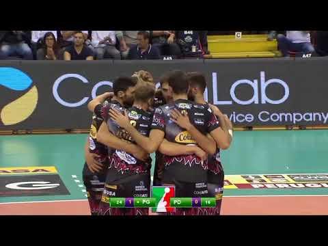 Gli highlights di Sir Safety Conad Perugia - Kioene Padova 3-0