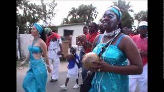VIDEO; FRENCH ST MARTIN PRE CARNIVAL JUMP UP SANDY GROUND 2012 ARAKATUBA