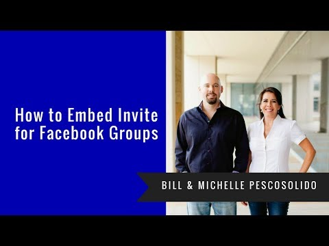 How To Embed Invite For Facebook Groups