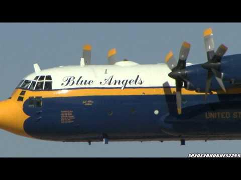 2011 NAF El Centro Air Show - Blue Angels' Fat Albert C-130 Demo