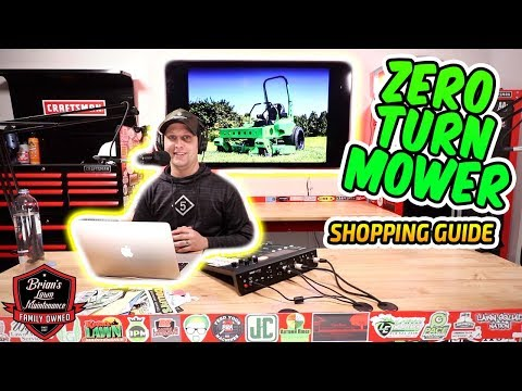 Who's Making The BEST Zero Turn Mowers Today In 2020?