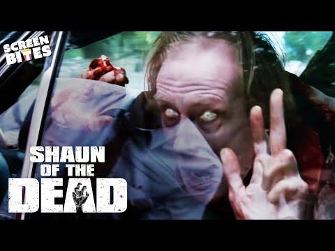 Philip Turns Into A Zombie | Shaun Of The Dead | SceneScreen