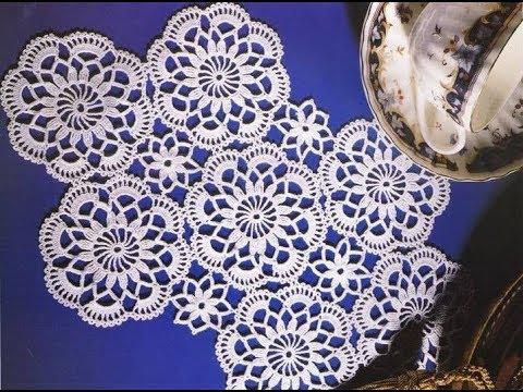 Vitrin Danteli Modelleri Tigisi Orgu Danteller Crochet