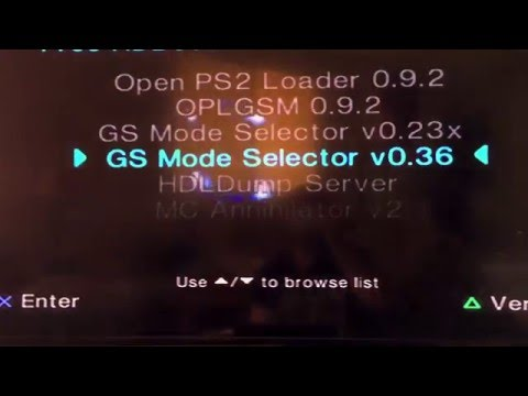 How to setup FHDB FREEMCBOOT on PS2 by Dakota Abels