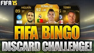 FIFA BINGO!!! CRAZY SPECIAL PACK FORFEIT! Fifa 15 Fifa Bingo Discard Pack Challenge!!!