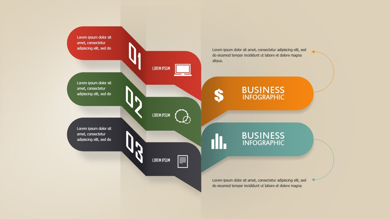 Photoshop Tutorial | Graphic Design Infographic Creative Business ...