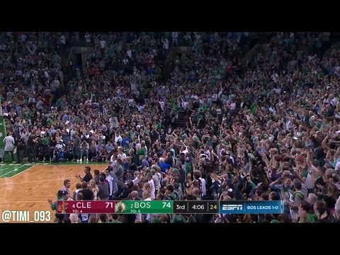 Boston Celtics R3G2 Defensive Highlights vs Cleveland Cavaliers (05/15/2018)