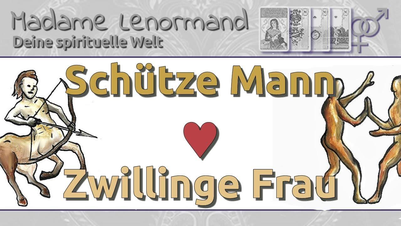 Schütze Mann & Zwillinge Frau: Liebe und Partnerschaft