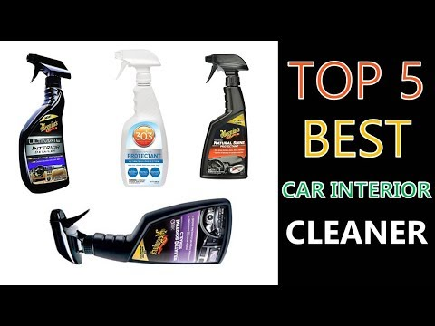 Best Car Interior Cleaner