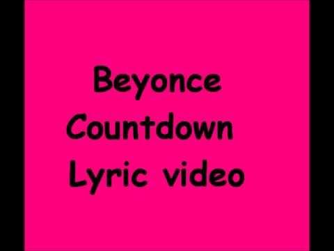 Beyonce - Countdown (Lyrics HD)