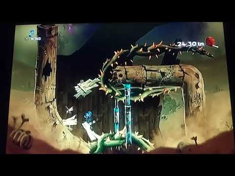 Rayman Legends Wii U Infinite Tower 24.64 km Daily extreme challenge 17/05/19