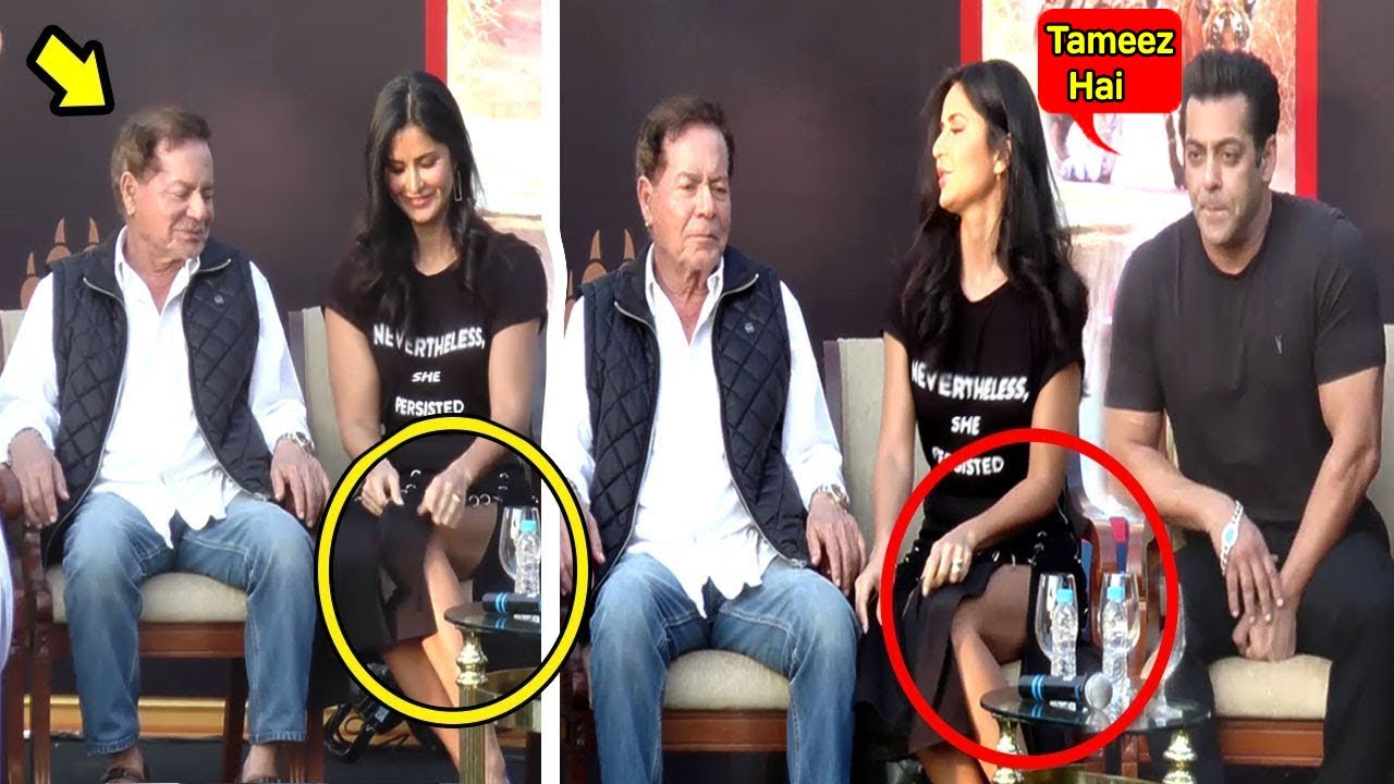 Katrina Kaif's SHOCKING OOPS Moment In Front Of Salman ...